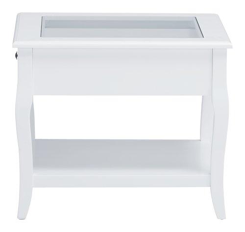 Table basse LONE 60x60 blanc
