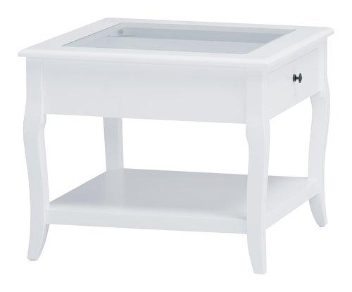 Couchtisch LONE 60x60 weiß