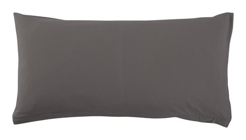 Funda almohada 45x90 gris antracita