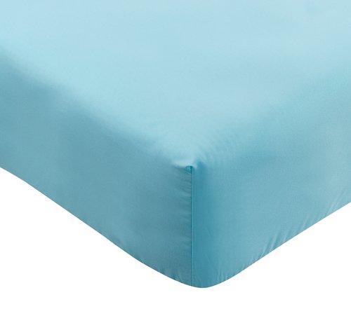 Sábana ajustable 150x190x25cm turquesa