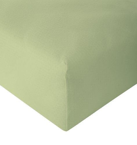 Sábana ajust Jersey 150x200x30cm verde c