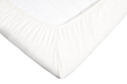 Jersey Umschlagtuch 180x200x14cm weiß