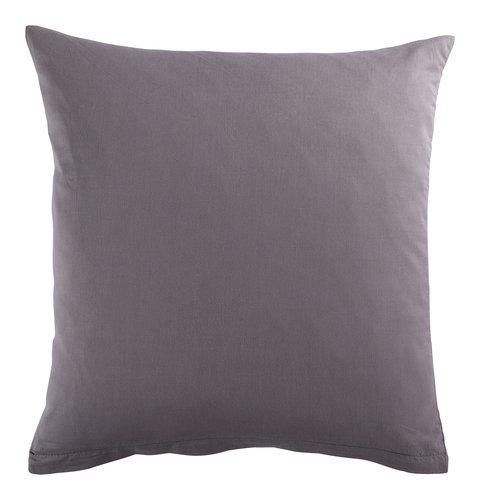 Funda almohada 60x60 gris antracita