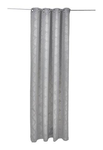 Cortina opaca CURVES 1x135x280 gris