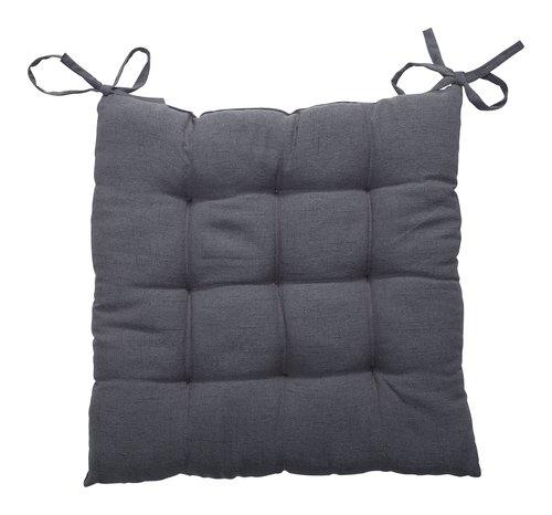 Cuscino sedia LORETTA 40x40x3 grigio sc.