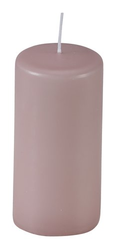 Stumpenkerze EJNAR Ø6xH12cm rosa