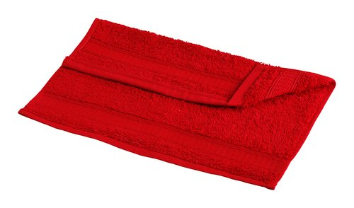 Waschlappen KRONBORG DE LUXE rot