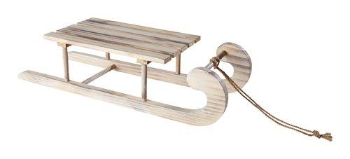 Schlitten SKINKA B13xL54xH18cm Holz