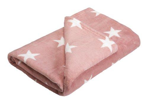 Fleecedecke STARLIGHT 140x200 rosa