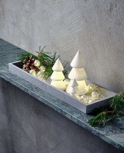Christmas tree AMFIBOL w/LED 3 pack