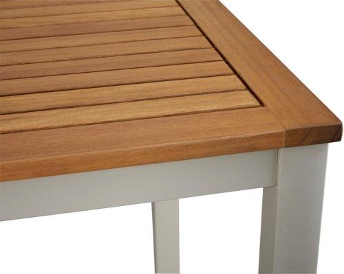 Mesa bar SACRAMENTO A80xL152 madera dura