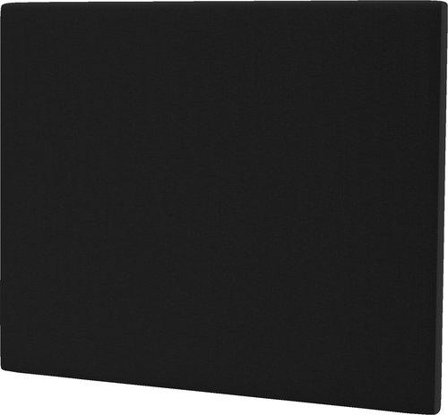 Sänggavel 140x115 H10 PLAIN svart-08