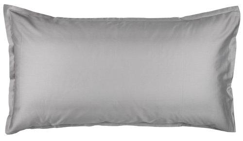 Tyynyliina Satiini 50x90 vaaleanharmaa