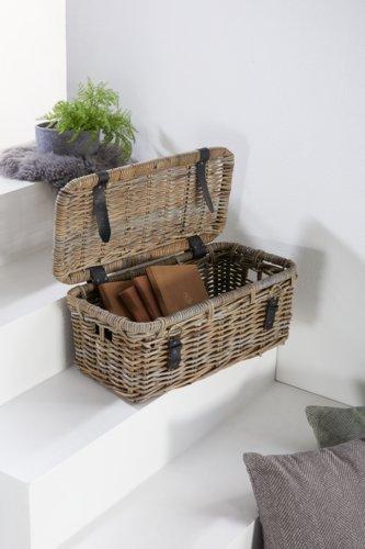Kiste LUNA 38x68x35cm natur
