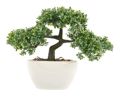 Kunstpflanze BONSAI H26cm div.
