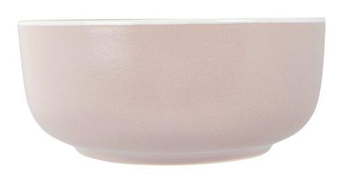 Ciotola ELIAS Ø15xH6cm in grès rosa