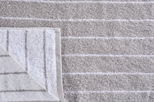 Duschtuch SOFIL STRIPE grau