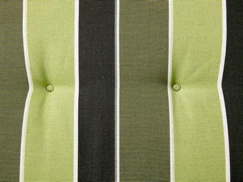 Coussin chaise dossier haut SEVILLA vert