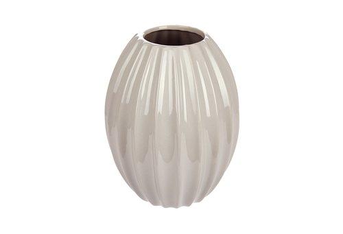 Vase EVALD Ø17xH23cm div.
