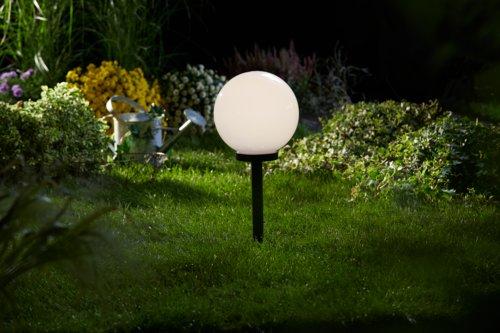 Solarlampe SOL Ø25xH61 weiß