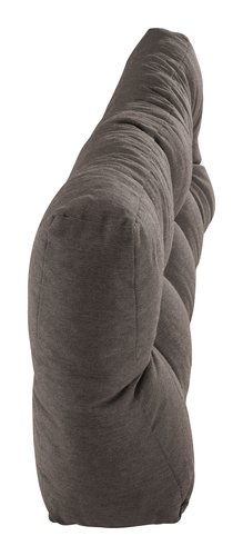 Coussin palette SKJERPE 120x40 taupe