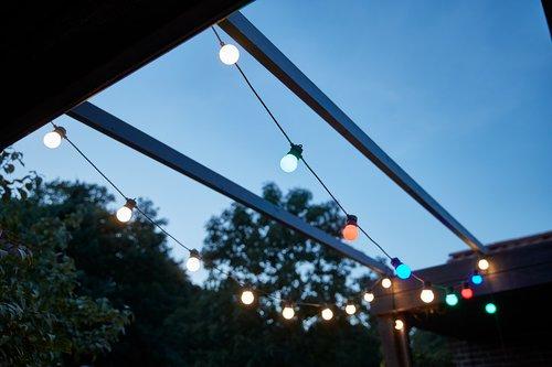 Svetelná reťaz LAPPUGLE 12m 20 LED rôz
