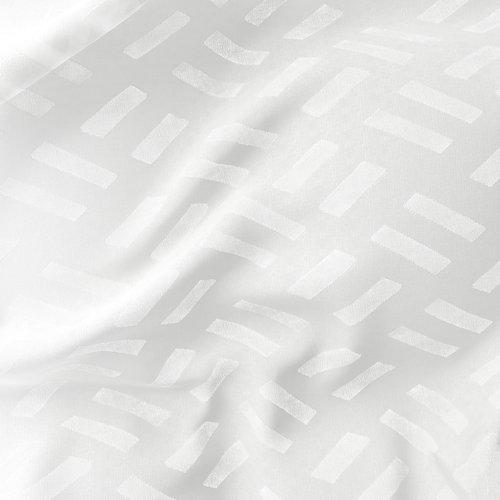 Perdea SULA 1x140x300 albă