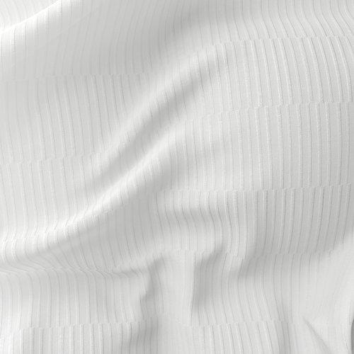 Draperie UNDEN 1x135x300 albă