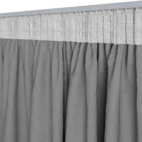 Фіранка блекаут ARA 140x300см сірий