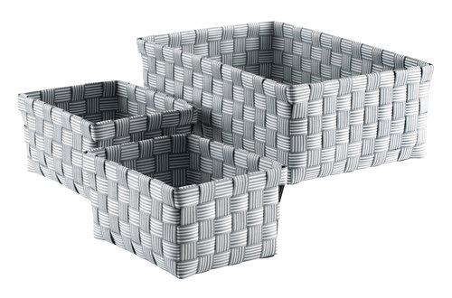 Набор корзин STINUS 3 шт. серый