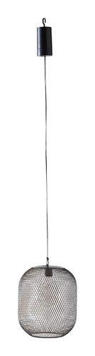 Hängeleuchte PATRICK Ø17xH21cm schwarz