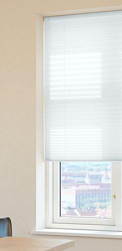 Plisségardin HOVDEN 80x160cm hvid