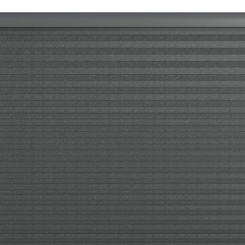 Plisségardin HOVDEN 140x160 grå