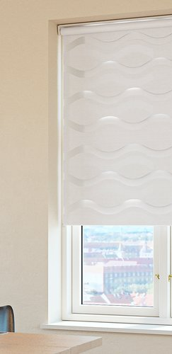 Doppelrollo EIKA 80x160 weiß