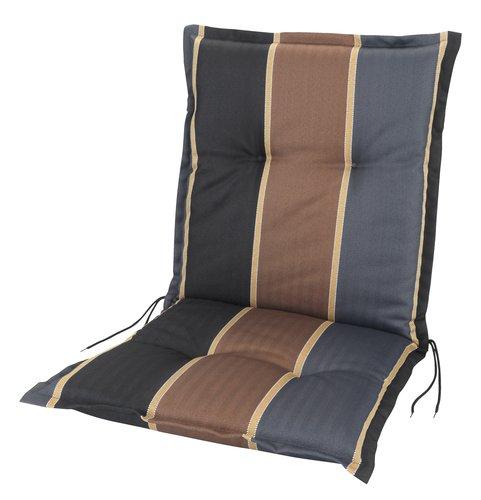 Coussin chaise à dossier haut AKKA brun
