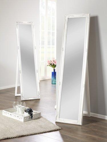 Miroir sur pied VRANGSTRUP 40×160 blanc