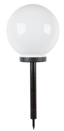 Solcellelampe SOL Ø25xH61 hvit