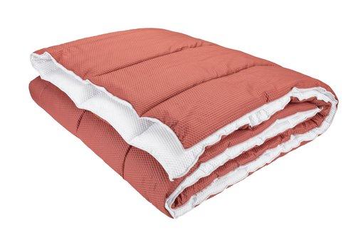 Täcke 500g MELDAL rosa sval 150x200