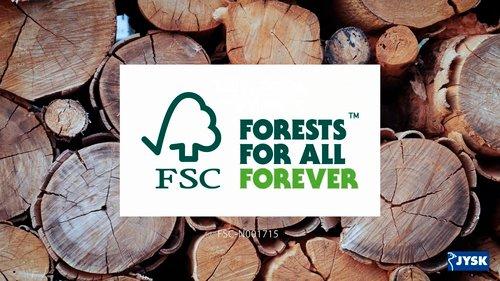 FSC-sertifiserte møbler