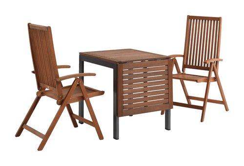 YTTRUP L75/126 legno+4 KAMSTRUP legno