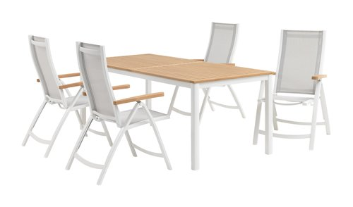 RAMTEN C206 madeira+4 SLITE branco