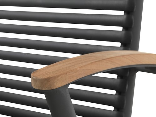 Krzesło SADBJERG czarny