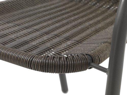Stablestol GRENAA grå