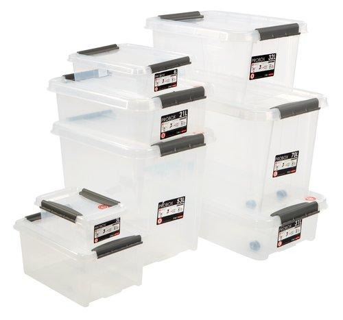 Kutija PROBOX 8L sa poklopcem providna