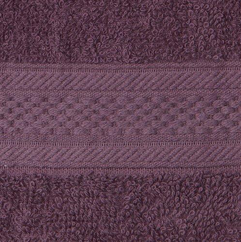 Brisača UPPSALA 30x50 tem.vijolična