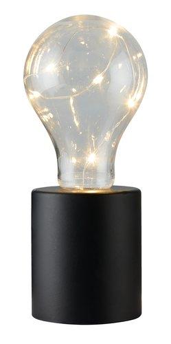 Lampe à piles VIGGO Ø7xH19cm a/LED