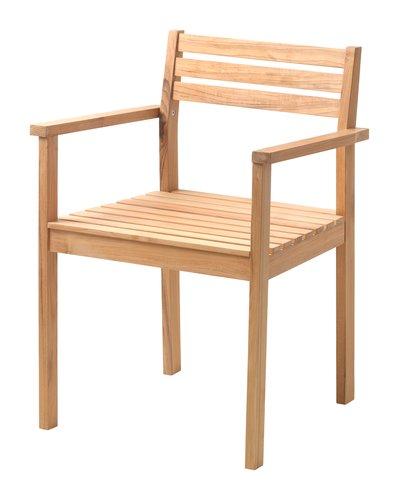 Καρέκλα VESTERHAVET τικ