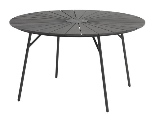 Table RANGSTRUP D130 black