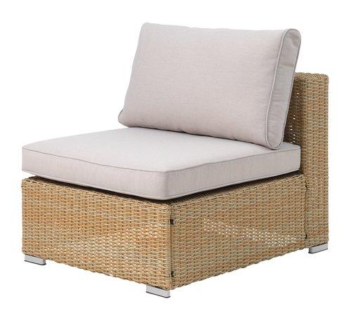 Lounge midtmodul DALL natur
