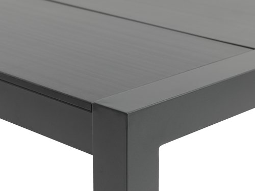 Table ATLANTA 100x213 gris